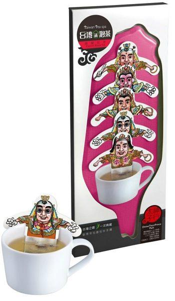 【收藏天地】熱賣文創*台灣請泡茶系列(5入單包裝)-電音太子包