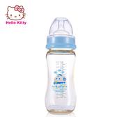 Hello kitty 寶寶寬口徑PES奶瓶 防摔防脹氣 安全材質 不含雙酚A【成長天地】(270ml)