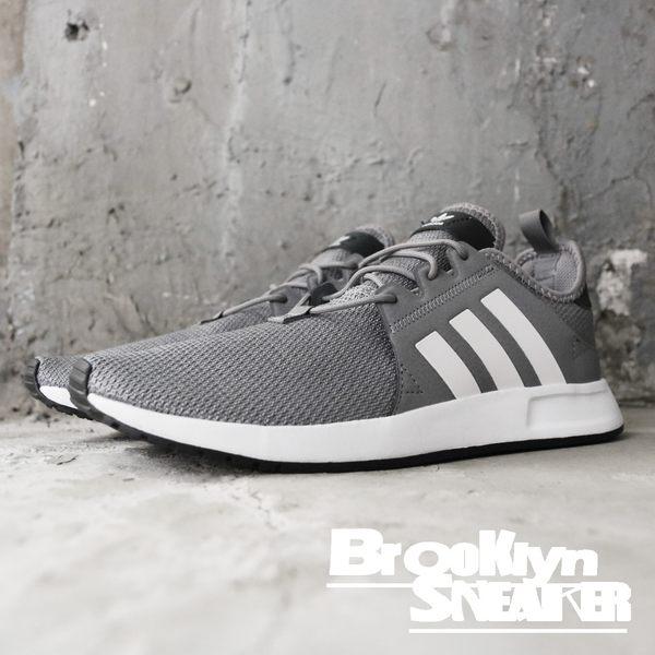 Adidas X_PLR 平民版NMD 灰 白  休閒 慢跑 男 (布魯克林) CQ2408