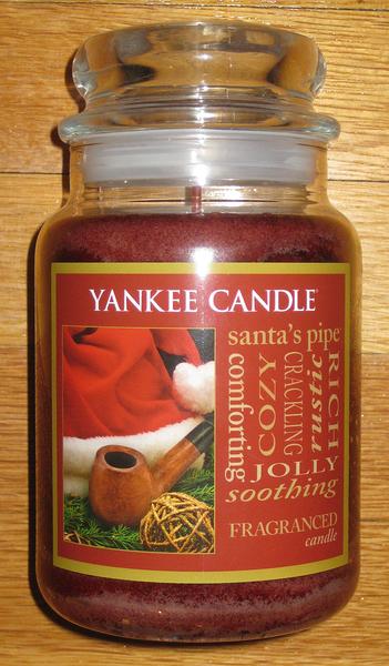 YANKEE CANDLE 香氛蠟燭 美國帶回 santa pipe