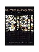 二手書博民逛書店 《Operations Management:An Asia Perspective》 R2Y ISBN:0071270620│Stevenson