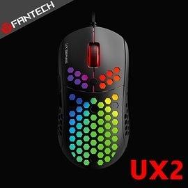 【風雅小舖】【FANTECH UX2 HIVE 酷炫RGB輕量電競滑鼠】