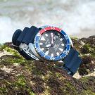 SEIKO 精工 / 4R35-02K0X.SRPC41J1 / PROSPEX PADI 鮪魚罐頭 機械錶 潛水錶 防水200M 矽膠手錶 黑x藍 42mm
