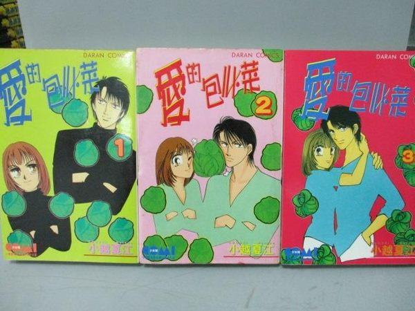 【書寶二手書T3/漫畫書_MEX】愛的包心菜_1~3集合售_小越夏江