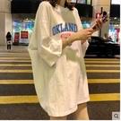 短袖夏裝韓版白色t恤女短袖ins超火寬鬆學生中長款原宿bf風半袖上衣潮春季特賣