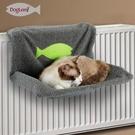 貓吊床四季保暖貓窩床掛窩 鋼架貓吊床貓床貓窩便攜寵物窩床墊  快速出貨
