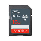 黑熊館 SanDisk Ultra SDHC 16GB 記憶卡 48MB/s 公司貨