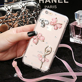三星 J8 J6 J4 J6+ J4+ J2 Pro 手機殼 水鑽殼 手工貼鑽 蝶舞芭蕾