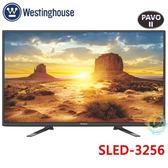 《送壁掛架安裝》Westinghouse西屋 32吋HD液晶電視SLED-3256顯示器+視訊盒V-05