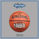 SPALDING 籃球 NBA 橘 銀標 粗顆粒 耐磨 女子球 6號球 SPA73407 SPA83015【SP】