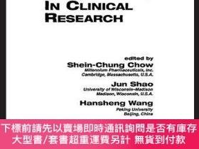 二手書博民逛書店Sample罕見Size Calculations In Clinical Research, Second Ed