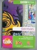 【書寶二手書T3/原文小說_LLJ】TALK GERMAN (BOOK & CDs)_Jeanne Wood