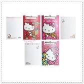 小花花日本精品♥ Hello Kitty 紅色 騎腳踏車 P.P.板夾附信紙 便條紙 下標選一 60009302(紅)
