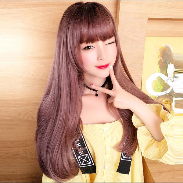 真實度破表!! 擬真韓系假髮 耐熱 長捲髮 超美大捲髮 假髮【MA464】☆雙兒網☆