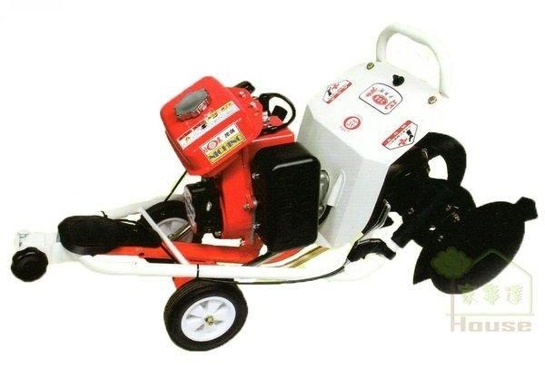 [ 家事達 ] 台灣日農-308F折疊式二行程汽油3.8HP--中耕機耕耘機+開溝跟培土+除草輪  特價