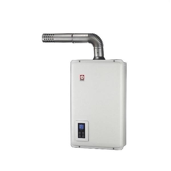 【南紡購物中心】櫻花【DH-1670AL】16公升強制排氣熱水器桶裝瓦斯