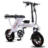 鋰電池電動滑板車可折疊式男女小型代步超輕便攜迷你型電瓶電動車YXS 潮流前線