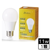 bltc麗元 LED燈泡11W-黃光【愛買】