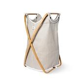 Gudee- BUTTERFLY II 肩背洗衣籃 (棕色)