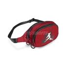 【六折特賣】Nike 腰包 Jordan Jumpman 紅 黑 喬丹 小包 斜跨包 斜肩包 【ACS】 9A0260-R78