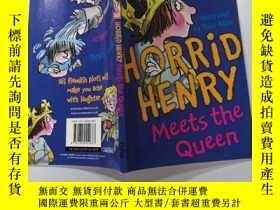 二手書博民逛書店Horrid罕見Henry Meets the Queen 可怕的亨利遇見了女王Y200392