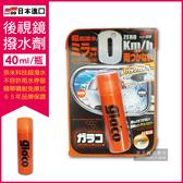 日本SOFT99 後視鏡撥水劑倒車鏡專用奈米驅水劑(C297)40ml