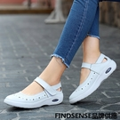 FINDSENSE品牌 四季款 新款 日本 女 高品質 個性  氣質 護士鞋