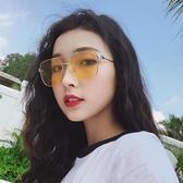 墨鏡 網紅墨鏡潮女新款韓版時尚太陽鏡復古個性潮人街拍ins 一件82折