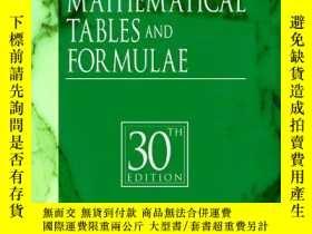 二手書博民逛書店CRC罕見Standard Mathematical Tables and Formulae, 30th Edit