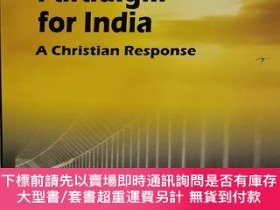 二手書博民逛書店A罕見New Political Paradigm for India : A Christian Respons