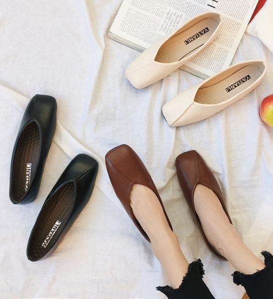 DE shop~(GG-9821)復古好穿豆豆鞋娃娃鞋