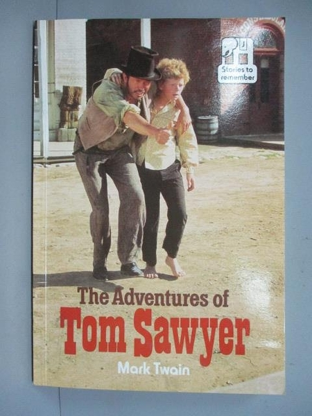 【書寶二手書T3/原文小說_IOH】The Adventures of Tom Sawyer _Mark Twain