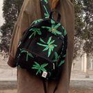 旅行包時光里森女韓系列新品現貨 原創 植物系雙肩包文藝帆布包女包背包 印象部落