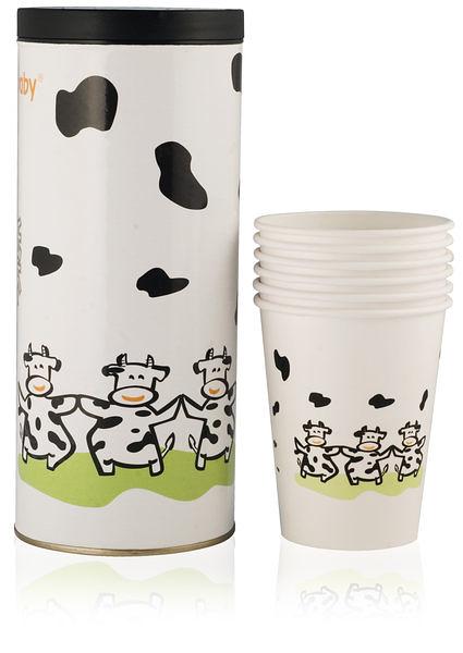 小饅頭**貝喜力克Basilic 哺乳紙杯-16入 (D085)