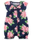 【美國Carter's】短袖連身衣- 盛夏花卉系列 #118G949