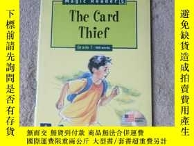 二手書博民逛書店The罕見Card Thief(附光盤)Y21478 Andre