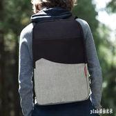 雙肩包B1801簡約休閒多功能書包男女筆記本時尚電腦包旅行背包 PA3989『pink領袖衣社』