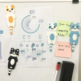 【BlueCat】大款躺躺貓磁鐵掛勾 冰箱貼