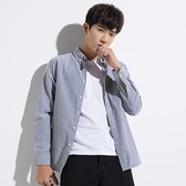 夏季牛津紡男士長袖白襯衫寬鬆休閒外套韓版潮流帥氣短袖襯衣服寸