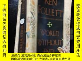 二手書博民逛書店ken罕見follett---world without end