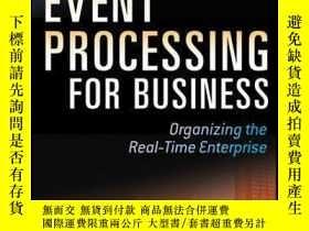 二手書博民逛書店Event罕見Processing for Business: Organizing the Real-Time