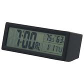 可調音量數位置鐘 TW8822 BK NITORI宜得利家居