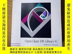 二手書博民逛書店罕見SYBASE,OPenClientDB-Library CY