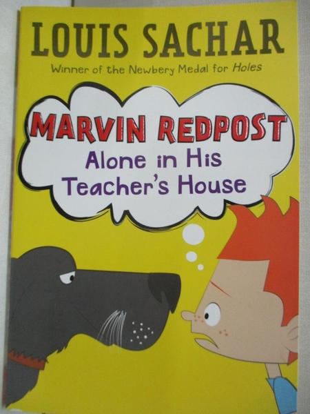 【書寶二手書T1/原文小說_CR6】Alone in His Teacher's House_Sachar