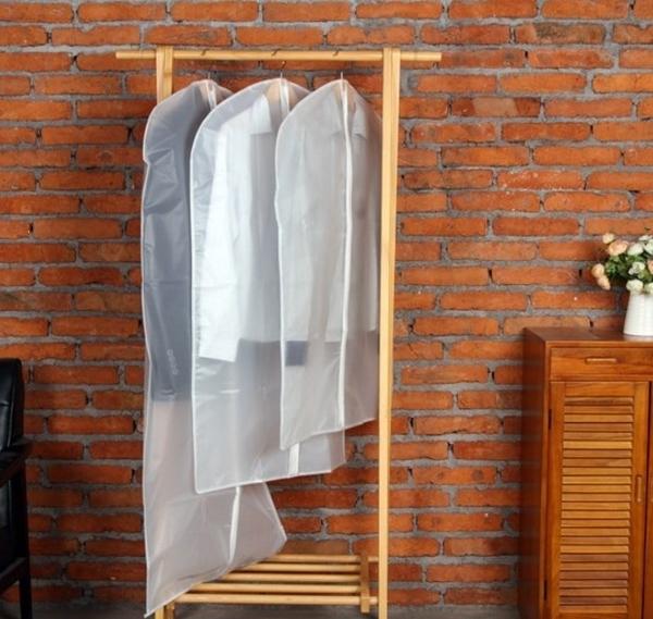 服裝衣物防塵套西服大衣服防塵罩透明收納袋無紡布西裝袋【H00516】