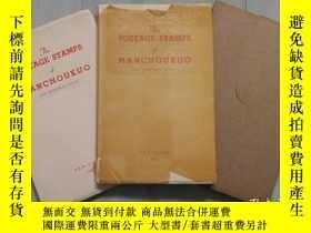 二手書博民逛書店The罕見Postage stamps of MANCHOUKU