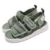 New balance 涼鞋 3206 綠 白 男鞋 女鞋 魔鬼氈 夏日 韓國版 涼拖鞋 【ACS】 SDL3206OD