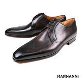 【MAGNANNI】翼紋德比紳士皮鞋 咖啡(19324-BR)