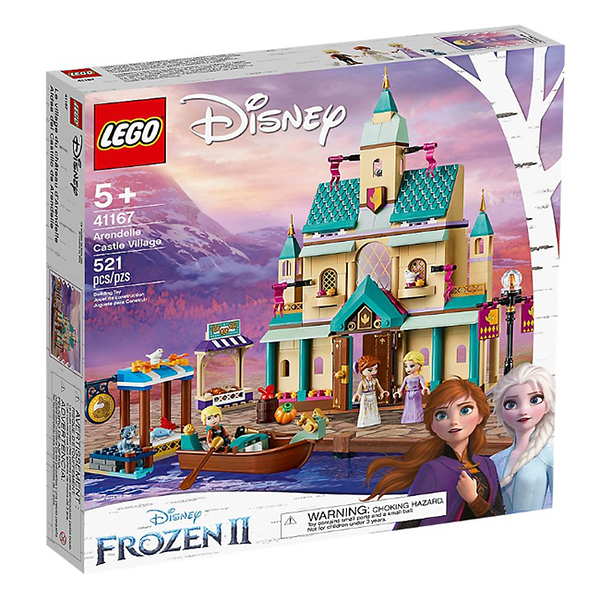 41167【LEGO 樂高積木】迪士尼公主 Disney Princess-艾莎 戴爾 冰雪城堡 (521pcs)