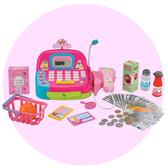 【瑪琍歐玩具】收銀機(粉紅)/LF1018B